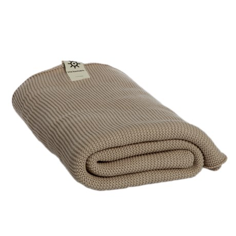 Iris Hantverk Bath Towel Natural