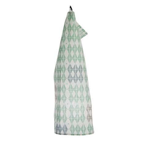 Iris Hantverk Towel Square 50 Frosty Green