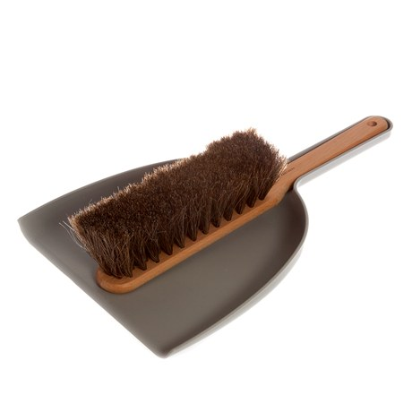 Iris Hantverk Dustpan & Brush Set Grey