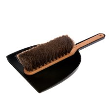Iris Hantverk Dustpan & Brush Set Black